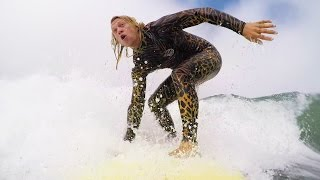 Surfing is DANGEROUS! - Dudesons VLOG