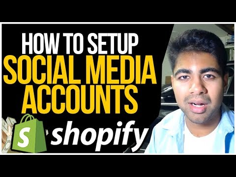 HOW To Setup Social Media Accounts For Shopify Dropshipping (FULL BRANDING TUTORIAL) thumbnail