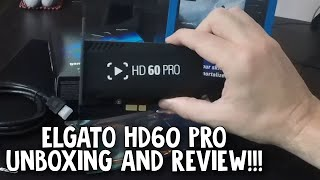 Elgato HD60 Pro Unboxing and Review!!!