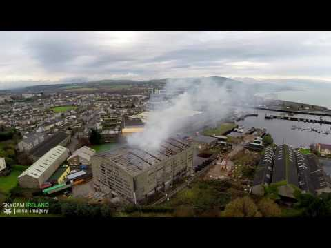 Arklow Warehouse Fire