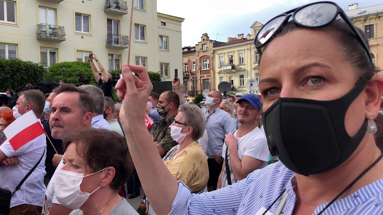Prezydent Andrzej DUDA 19 06 2020 ROK KIELCE - YouTube