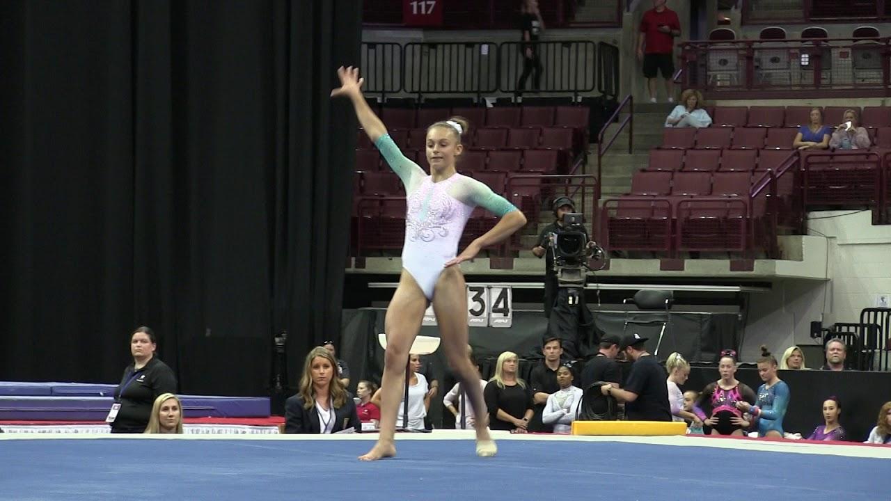 Grace McCallum - Floor Exercise - 2018 GK U.S. Classic ...