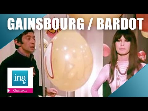 "Serge Gainsbourg et Brigitte Bardot ""Comic Strip"" 