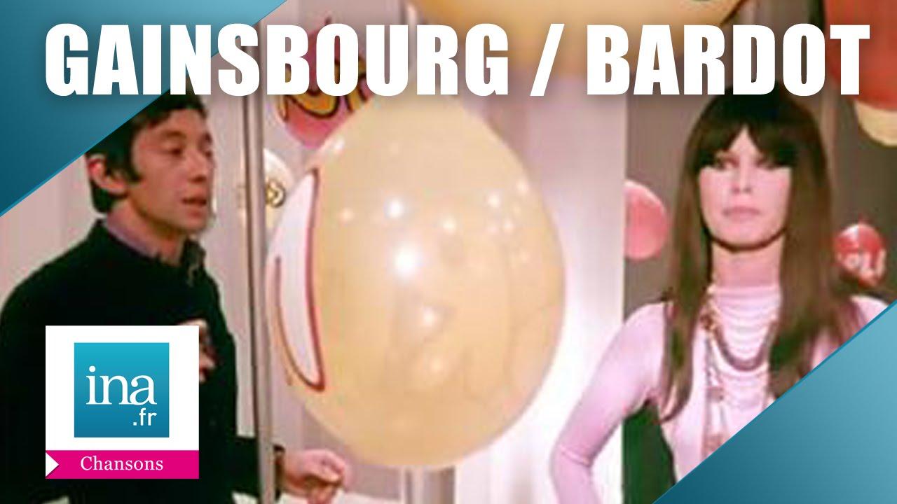 "Download Serge Gainsbourg et Brigitte Bardot ""Comic Strip""   Archive INA"