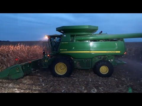 First Day of Corn Harvest 2018