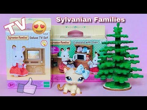 LPS / Приятные мелочи от Sylvanian Families Распаковка