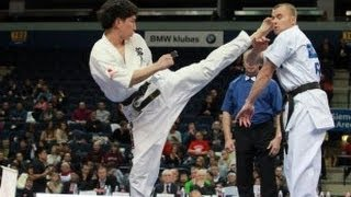 新極真会 The 5th Karate World Cup Men Light Weight Quarterfinal 2 Maeda Vs Kalyapin
