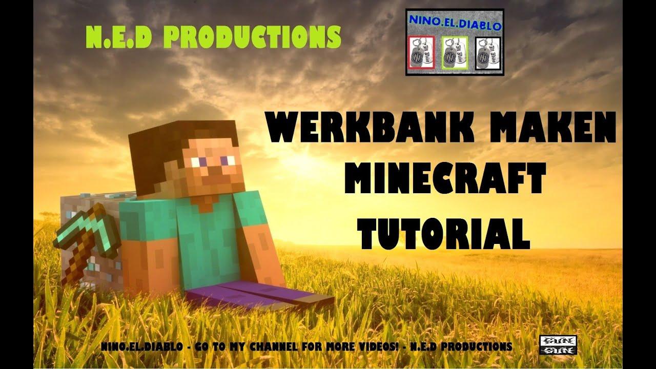 (Tutorial) Minecraft, Hoe maak je een werkbank! - YouTube