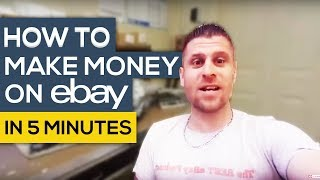 How To Start Making Money On Ebay In 5 Minutes - $4,366.59 Listed Today