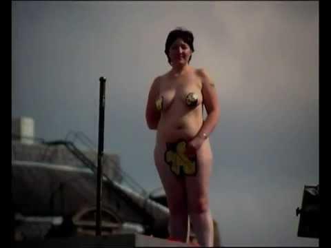 Mature sunbathing nude