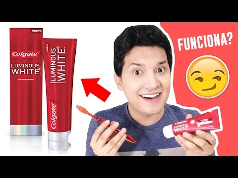 COLGATE LUMINOUS WHITE WORKS? TEETH WHITENING AT HOME | REVIEW | AndyZaturno