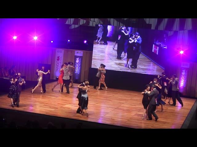 Mundial de Tango 2018, semifinal PISTA, Ronda 9 , Usina del Arte, Buenos Aires