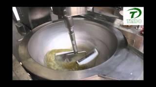 mushroom caramel popcorn processing machine
