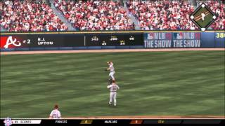 THE BIG HITS - St. Louis Cardinals vs. Atlanta Braves - Franchise - EP 42 MLB 13 The Show