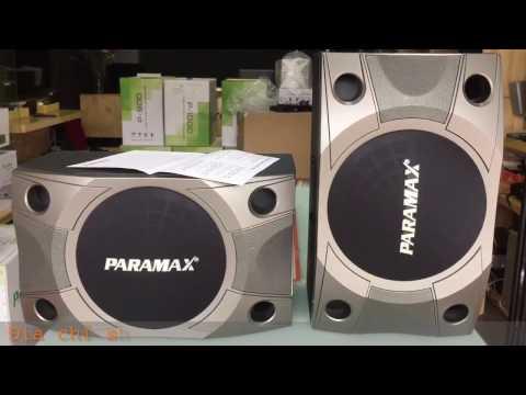 Mở Hộp và Thông số kỹ thuật Loa Karaoke Paramax P800