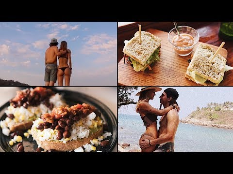 MEXICO TRAVEL VLOG: WHAT I EAT + Oil Free Vegan Fajita Recipe