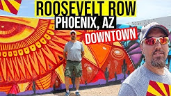 Downtown Phoenix, Arizona: Roosevelt Row | Things to do in Phoenix, Arizona