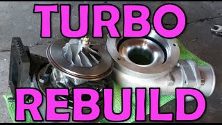 How to Rebuild a Turbo! (Broke & Booṡted Ep4)