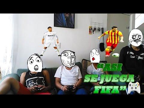 Vídeo Reacción l Jugando Fifa l Ruflexs