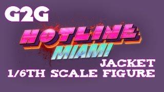 ESC Toys & Dennaton Games Kickstarter Hotline Miami Jacket Figure