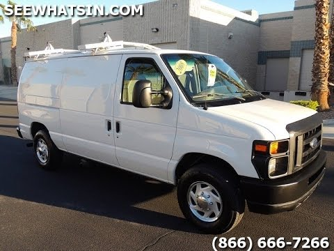 484f1da352 2008 Ford E-Series Cargo E-250 - PERFECT - 60 CARGO VANS FOR SALE - A46671-CARGO  VANS
