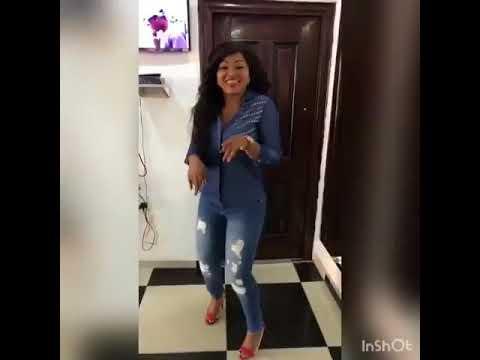 Mercy Aigbe Dances to Tiwa Savage's Malo ft Wizkid