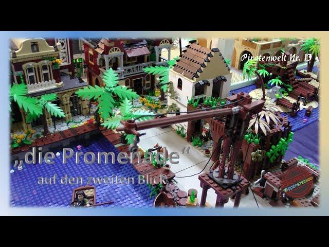 Lego Piraten im Steinekeller # 13 - die Promenade - auf den zweiten Blick