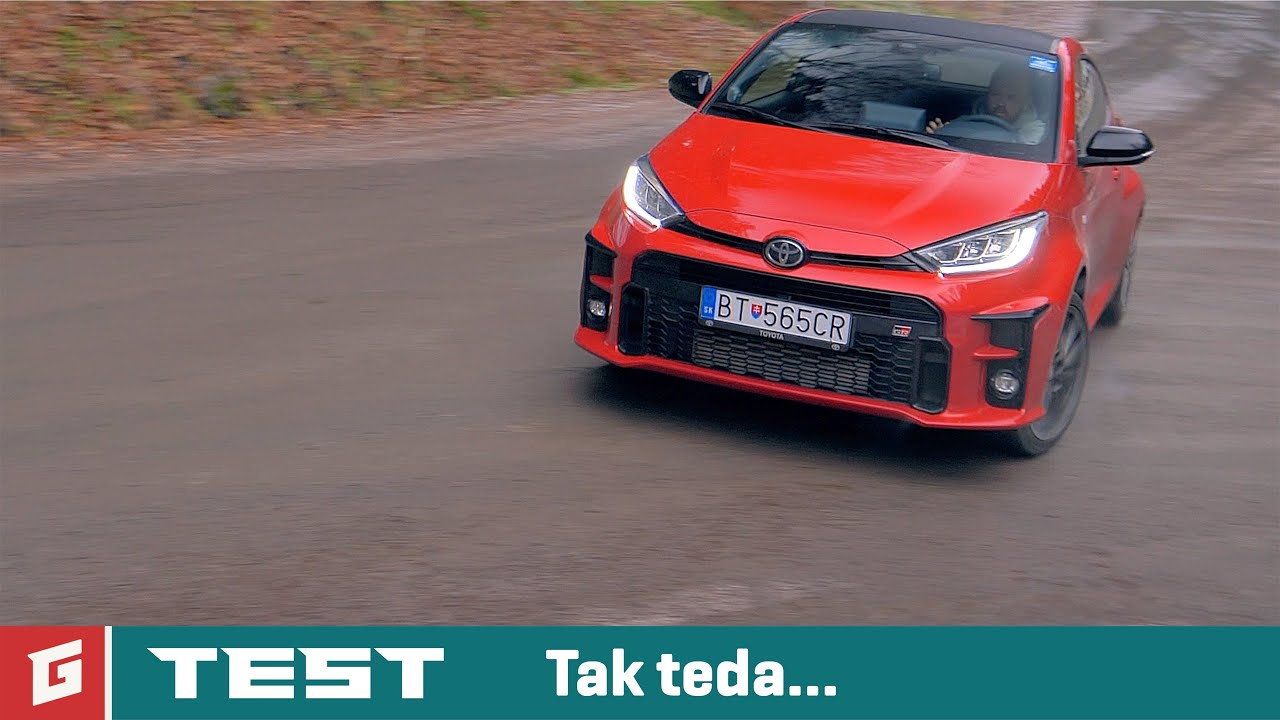 Toyota Yaris GR-FOUR - TEST - GARAZ.TV - Rasťo Chvála