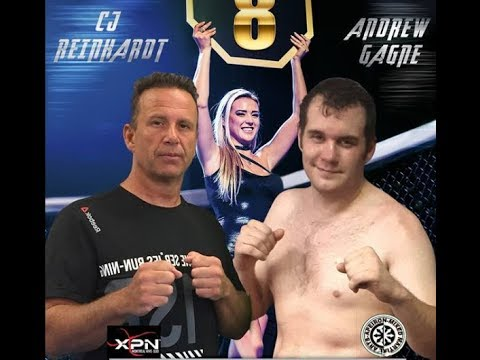 MFL 8  Andrew Gagne VS Cj Reinhardt