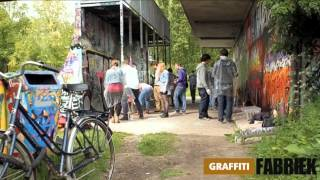 graffiti-fabriek - graffiti workshop broer- en zus dag Amsterdam