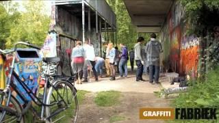 graffiti-fabriek - graffiti workshop broer- en zus dag Amsterdam