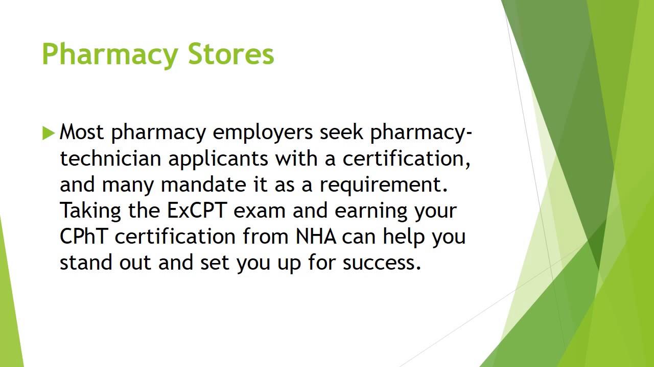 Excpt Pharmacy Technician Exam Course Youtube