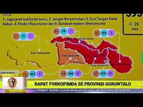 Rapat Forkopimda Se Provinsi Gorontalo