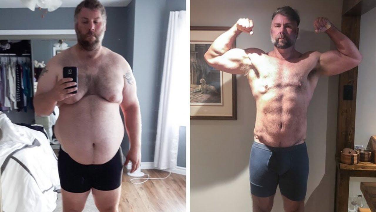 Men Weight Loss Success Stories #133