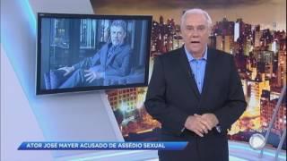 """Marcelo Rezende critica Zé Mayer: """"Sou da sua geração e nunca assediei ninguém"""""""