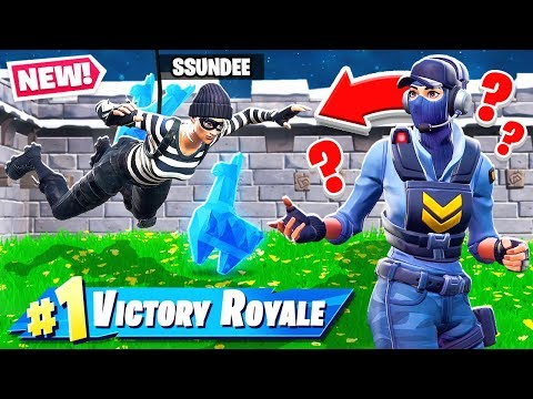STEAL the MUSEUM LLAMA  *NEW* Game Mode in Fortnite Battle Royale thumbnail