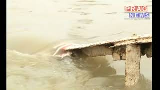 Brahmaputra river already crossed danger level || Flood in Assam