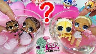 Куклы ЛОЛ 60 СЮРПРИЗОВ Распаковка ЗОЛОТАЯ СЕМЕЙКА Обзор игрушек для девочек BIGGER LOL Surprise