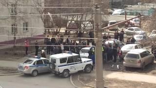 Задержание двух мужчин на ул. Красина, 15 апреля, Новосибирск