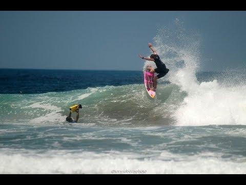 PLAYA COLORADO NICARAGUA SURF REPORT AUGUST 21 2017
