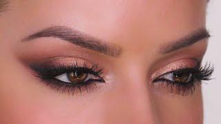 Rose Gold Smokey Wing Makeup Tutorial | NARS Skin Deep | Shonagh Scott