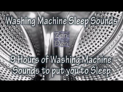 9 Hours of Washing Machine Sounds - Sleep Sounds