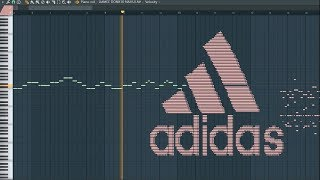 What Adidas Sounds Like - MIDI Art