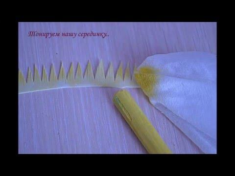 """Творим цветочное чудо -""""Хризантема- игольчатая""""от Ольги Сыротюк"""