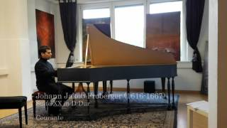 J. J. Froberger: Suite XX in D-Dur (gespielt von Diego Ares)