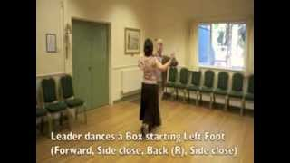 Square Tango Sequence Dance Demonstration and Walkthrough
