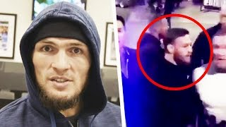 Khabib reacts to McGregor Bus Incident, Conor in Jail & more reactions!