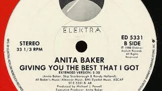 Anita Baker - Giving You The Best That I Got (Extended Version)
