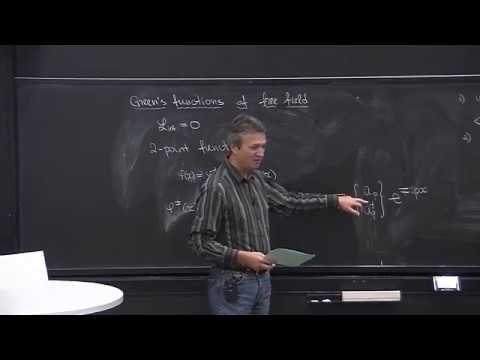 Lecture 9   Part 2   Idea of Renormalization, Green's Functions, Wick's Theorem