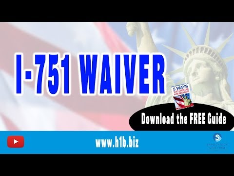 Filing I-751 Waiver Where a Marriage Ends in Divorce: Can Still Get a Green Card! from YouTube · Duration:  3 minutes 10 seconds